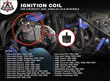 ignition coil 10489421 coils amazon canada 2000 Chevy Astro
