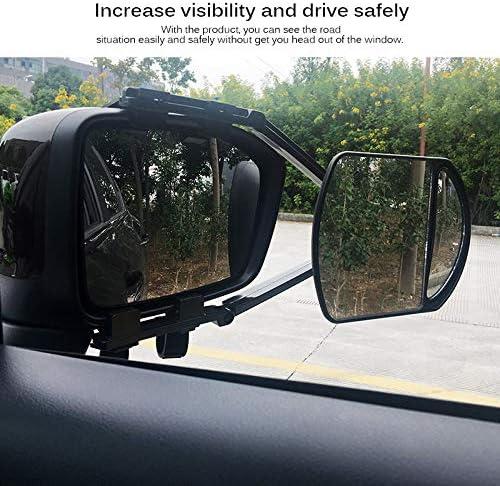 ECCPP Towing Mirror Replacement fit 2007-2013 Chevrolet Avalanche Silverado Suburban Tahoe GMC Sierra Yukon Power Heated Turn Signal Memory Right Passenger Side Mirrors