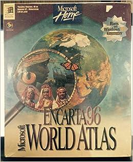 Encarta 96 world atlas amazon microsoft press 9781572311398 encarta 96 world atlas amazon microsoft press 9781572311398 books gumiabroncs Choice Image