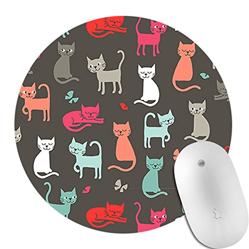 Keyboard & Mouse Pads Non Slip Rubber Round Mouse Pad Desktop Working Mouse  Pad Gaming Computer PC Mouse Mat D12
