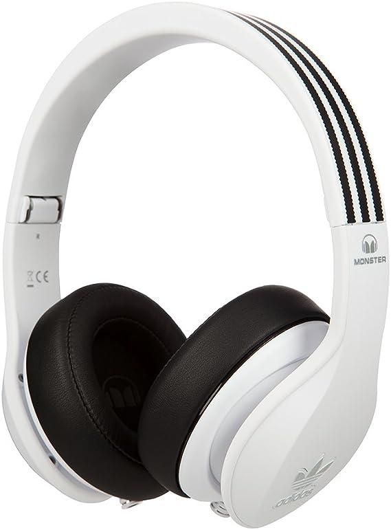 Monster Adidas - Auriculares de diadema cerrados, color blanco ...