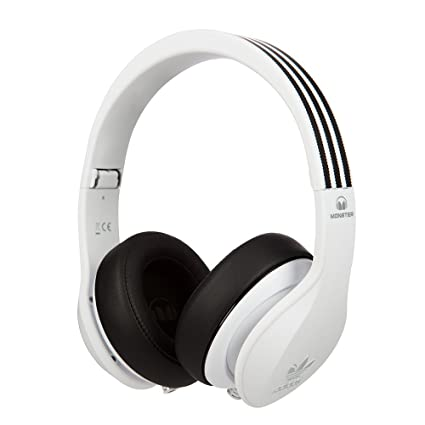 Amazon.com  Monster Adidas Originals Over Ear Headphones-White ... 6f21e506c8