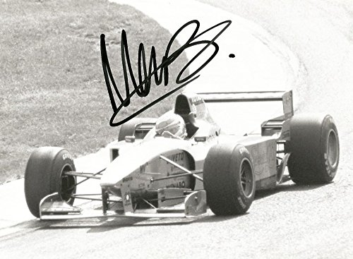 Martin Brundle BRITISH FORMULA ONE RACING DRIVER autograph, signed photo