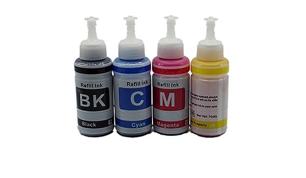 Kit de Tinta de Repuesto para Impresora Epson L100, L101 ...