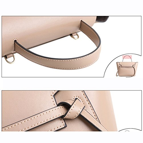 Body Women's Khaki Purse Belt Leather Hangbag Bag Cross Actlure 4XA87fqq