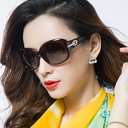 ab325ab09d Sunyan The new high gloss sunglasses female tide sunglasses girls round face  short-sighted glasses
