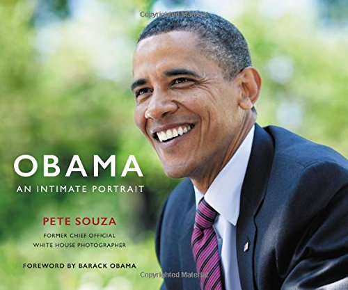 Book cover from Obama: An Intimate Portrait by Pete Souza