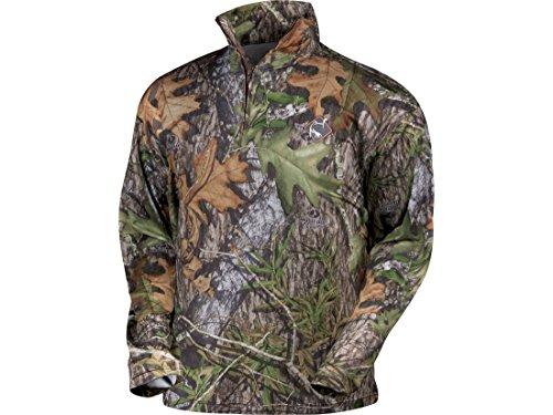 Ol' Tom Men's Turkey Gear Performance Quarter-Zip Pullover Mossy Oak Obsession (M)