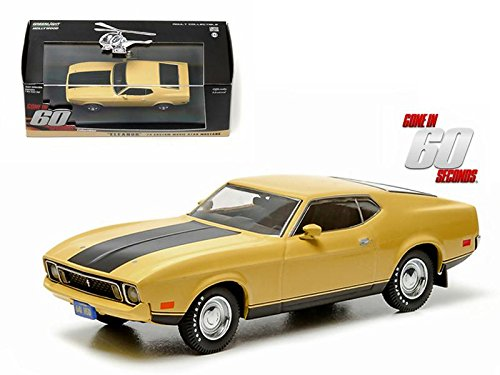 yellow ford mustang - 1