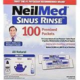 NeilMed Sinus Rinse Refill Packets, 100 Count