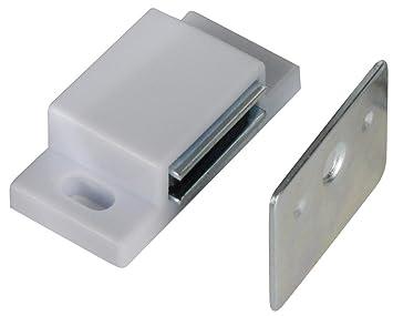 Richelieu Ap52030u Magnetic Cabinet Catch White 100 Count
