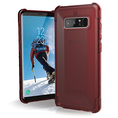 UAG Samsung Note 8 Plyo Feather-Light Rugged [CRIMSON] Military Drop Tested Phone Case (Samsung Telephone Tactile)