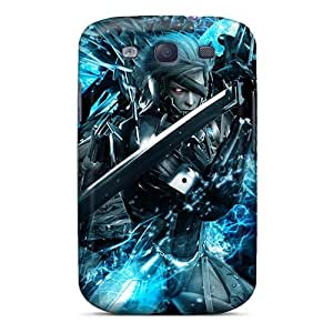Shock Absorption Cell-phone Hard Cover For Samsung Galaxy S3 (nZK4533WynP) Allow Personal Design High-definition Metallica Image