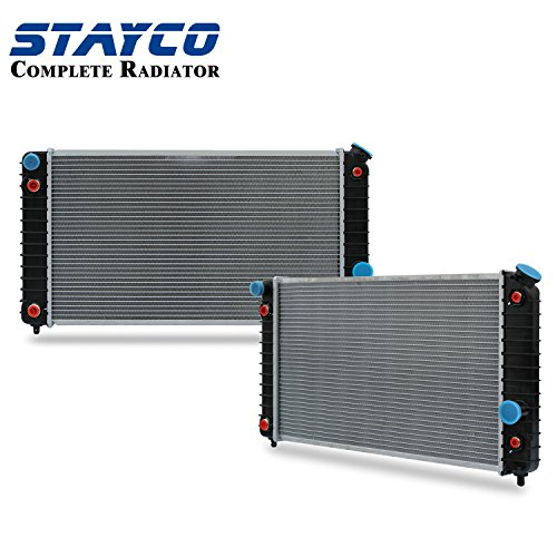 CU1826 Radiator Replacement for Chevrolet Blazer S10 GMC Jimmy Sonoma Isuzu Hombre Oldsmobile Bravada V6 4.3L