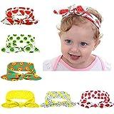 Cute Summer Fruit Seris Baby Girls Toddler Elastic Headbands Turban Rabbit Hairband Headwear