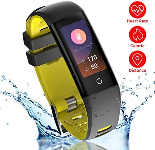 READ Smart Fitness Tracker Heart Rate Monitor G16 Sports Activity Tracker Watch IP67 Waterproof Bluetooth Pedometer Calorie Counter for Women Kids Men