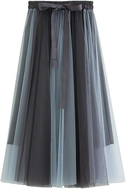 Qijinlook 💖 Faldas Tul Mujer Fiesta Elegante💖Costura de Tul ...
