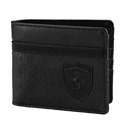 Puma - Ferrari Lifestyle Wallet, Black by PUMA
