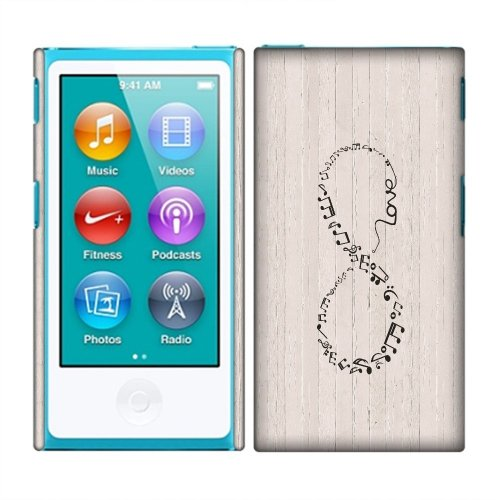 Apple iPod Nano 7 (7th Generation) Case, Fincibo (TM) Back Cover Hard (Slide Protector Case Cover)