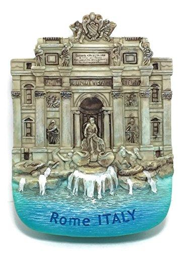 - Art Paint Design Fountain Fontana Dei Trevi Rome Italy Fridge Magnet High Quality Resin Fridge 3d Magnet