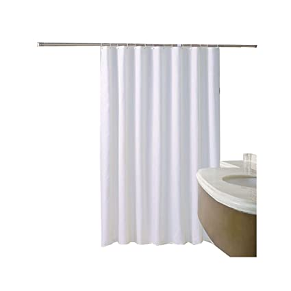 Image Unavailable Not Available For Color Beydodo White Shower Curtains With Matching Window