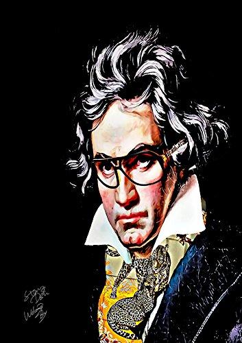 Beethoven × HERMES ベートーヴェン × エルメス アートポスター オマージュアート #wb49 STAR DESIGN A1サイズ(594×841mm) B07BZKYYKZA1(594×841mm)