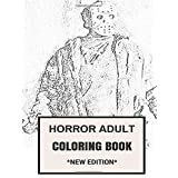 Horror Adult Coloring Book: Macabre and Dark Fantasy Nocturnal Night Patterns Inspired Adult Coloring Book