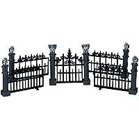 Lemax Miniature Spooky Town Halloween Gargoyle Fence (Set of 5)