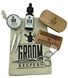 Best Deluxe Beard & Mustache Grooming Kit by Groom