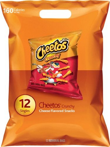 Cheetos Crunchy Cheese Flavored Snacks - 12 - Cheese Cheetos