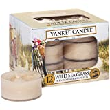 Yankee Candle Wild Sea Grass Tea Lights Box of 12