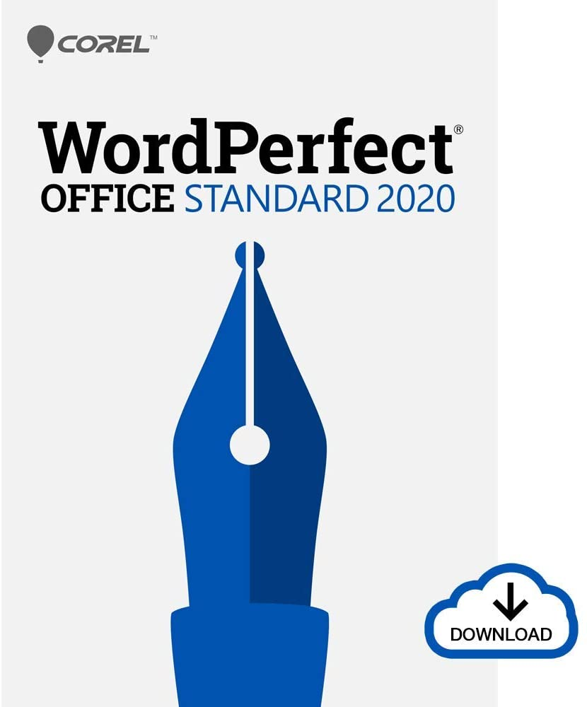 Corel WordPerfect Office 2020 Standard | Word Processor, Spreadsheets, Presentations | Newsletters, Labels, Envelopes, Reports, Fillable PDF Forms, eBooks [PC Download]
