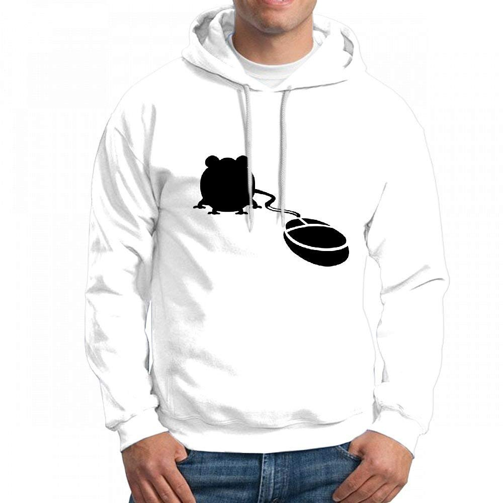CopyBoy Store Sweatshirt Graphic Mouse 1 F Mens Hoodie