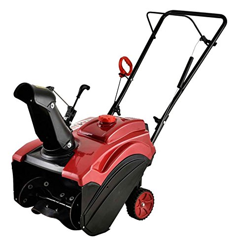 Amico Power 18'' 87cc Single Stage Electric Start Gas Snow Blower/Snow Thrower