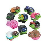 Fun Express Vinyl Turtle Character Assortment Party Favor - 50 pieces