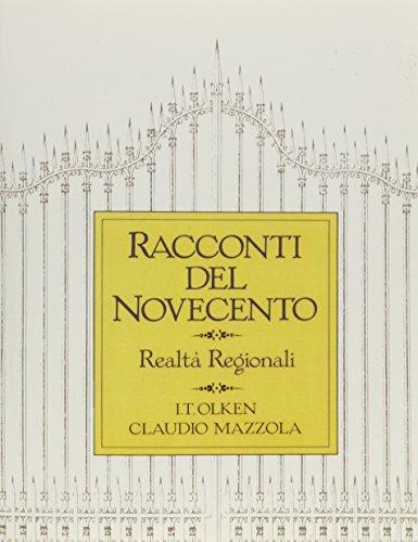 Racconti Del Novecento: Realta regionali