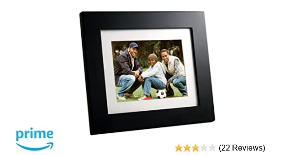 Amazon.com : Panimage PI8004W01 8-Inch Digital Picture Frame (Black ...