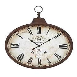 Deco 79 66973 Metal Wall Clock