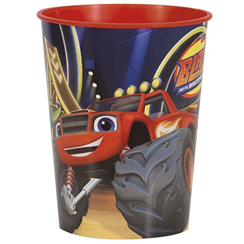 16oz Blaze and the Monster Machines Emoticons Party Plastic Loot Treat Favor Keepsake cups (8)