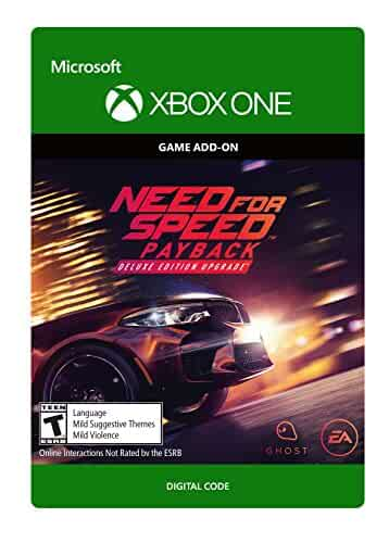 need for speed payback deluxe edition upgrade xbox one digital code video games. Black Bedroom Furniture Sets. Home Design Ideas