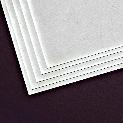 Alvin Alva-Line Vellum Tracing Paper with Title Block and Border, Pack of 10, White, 11 x 17 inches (6855/B-XO-3)