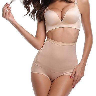 540c2973965e AOBRITON Women Control Panties Butt Lifter Shapewear High Waist Trainer  Tummy Body Shaper Underwear Slimming Bodysuit at Amazon Women's Clothing  store: