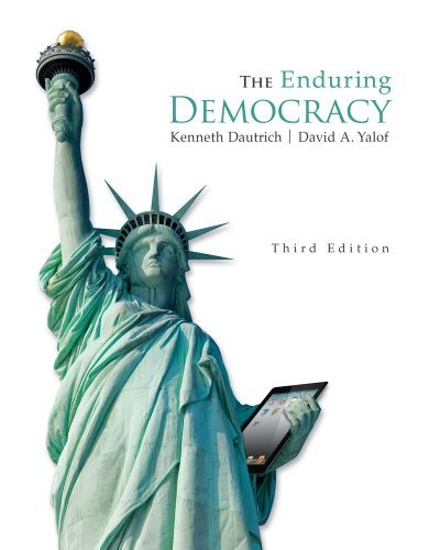 Download By Kenneth Dautrich The Enduring Democracy (with Aplia Printed Access Card) (American and Texas Government) (3rd Edition) PDF