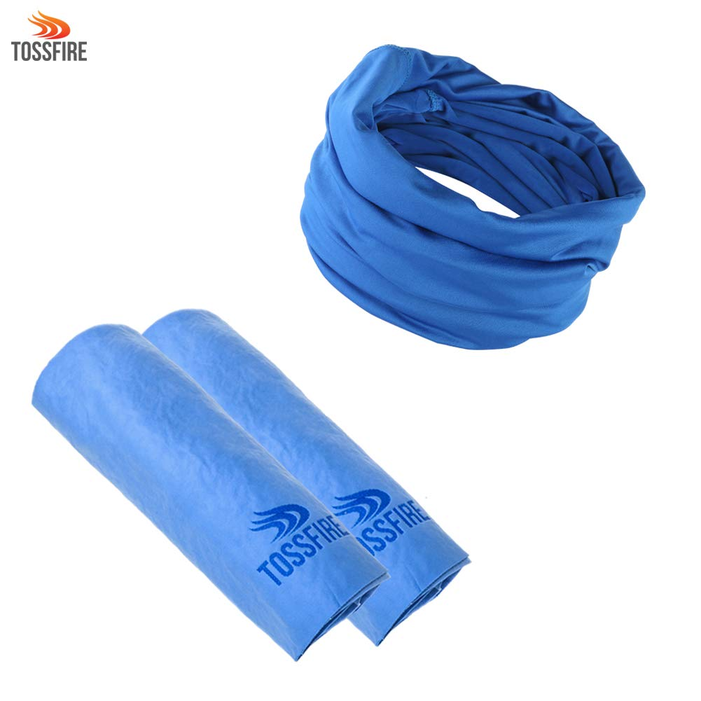 TOSSFIRE PVA Cooling Towel with Cooling Band