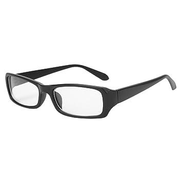 04de471e1c1 Women Men Eyeglasses Blue Light Blocking Computer Glasses Anti Eye Strain  UV Black Frame Reading Glasses