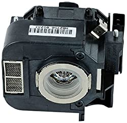 Kingoo Excellent Projector Lamp For Epson Powerlite 825 Powerlite 826w Powerlite 826w Powerlite 84 Replacement Projector Lamp Bulb With Housing