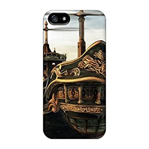 New Premium Flip Case Cover Airship Ii Skin Case For Iphone 5/5s