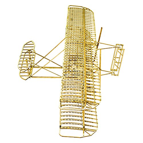 HITSAN Wright Flyer1903 Balsa Wood 510mm Wingspan Airplane Model Kit One Piece by HITSAN (Image #3)