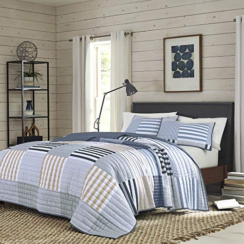 - IZOD 100% Polyester Evan Comforter Set, King, White