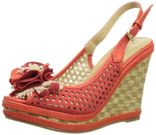 Griffith Park Jlh602 - Sandalias de vestir Mujer Rojo